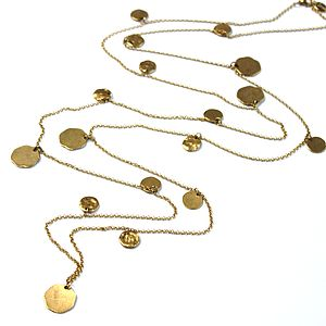 Long Chains Of Gold Necklace - yellow gold jewellery