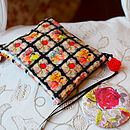Stylish Purse & Pocket Mirror Set
