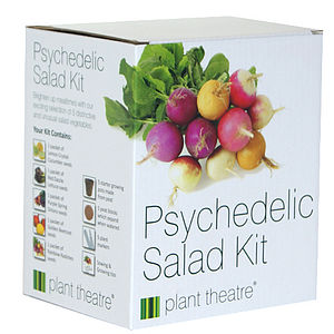 Psychedelic Salad Kit - for foodies