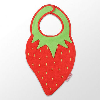 Strawberry And Apple Bibs