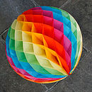 Paper Tissue Ball - Rainbow