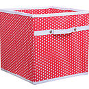 Fabric Storage Box   Five Colours Available