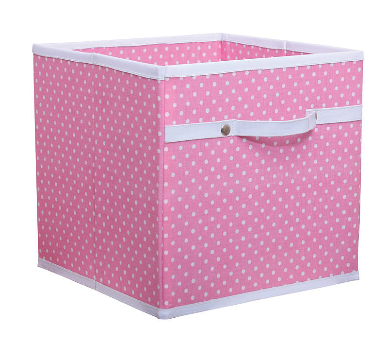 Fabric Storage Box Four Colours Available