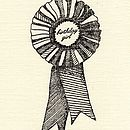 'Birthday Boy Or Girl' Rosette Card
