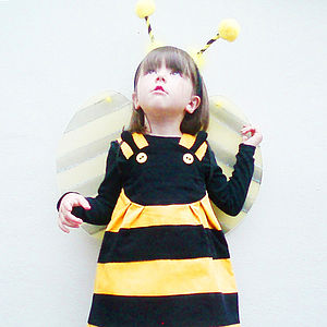 Bumble Bee Play Dress - children's parties