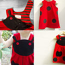 Girl's Ladybird Character Play Dress