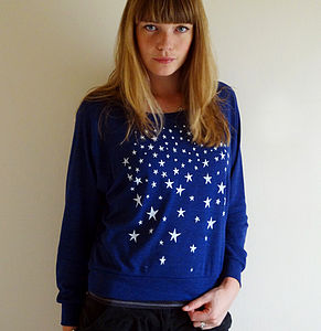 Dark Is The Night Slouch Sweater - women's fashion