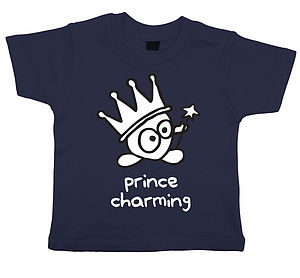 'Prince Charming' Child's T Shirt - clothing