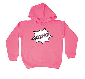 'Boing' Child's Hoodie