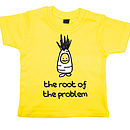 'Root Of The Problem' Child's T Shirt