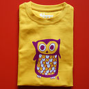 Child's Owl T Shirt