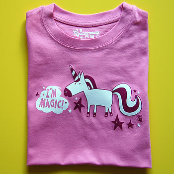 Child's Magic Unicorn T Shirt