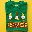 Child's Allotment Gnomes T Shirt