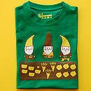 Child's Allotment Gnomes T Shirt
