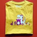 Child's Dinosaur T Shirt
