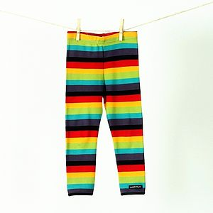 Children's Multistripe Leggings