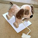 Pullalong Puppy Dog & Soft Toy In One