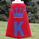 red girls crown cape