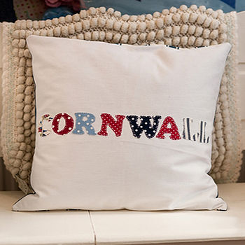 Personalised Place Cushion