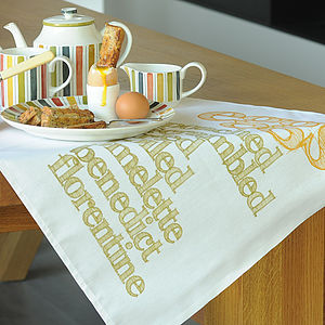 'Eggs' Tea Towel - kitchen accessories