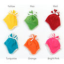 Fleece Baby Hats Bright Colours