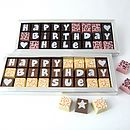 Personalised Birthday Chocolate Box