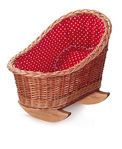 Red Heart Dolls Cradle - children's room