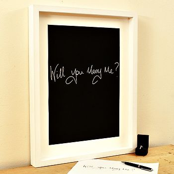 Personalised 'Will you marry me' Print