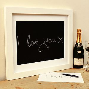 Personalised Handwriting Print - gifts for couples