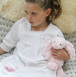 Pink Mouse Nightie - children's clothing