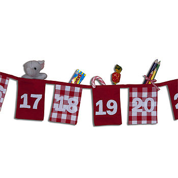 Christmas Advent Calendar Bunting