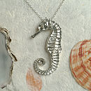 Seahorse Necklace, Seaside Gifts