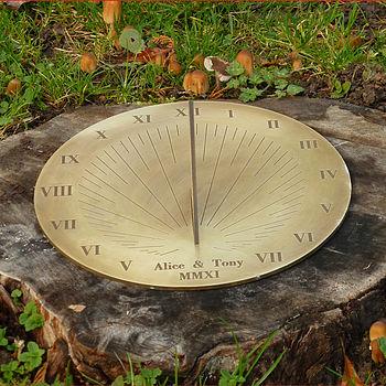 Galileo Brass Sundial