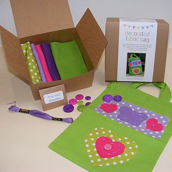 Decorated Fabric Bag Kit