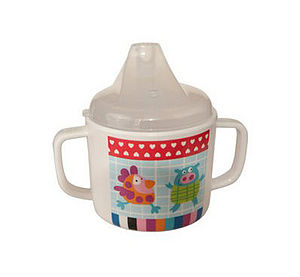 You're Crazy, Wolf! Drinking Cup - baby care