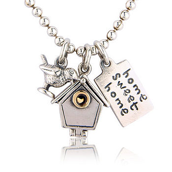 'Home Sweet Home' Necklace