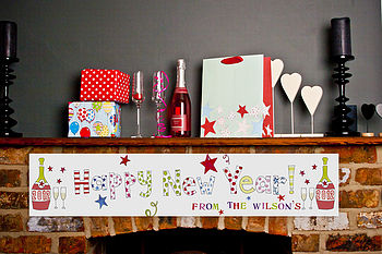 Personalised New Year Banners