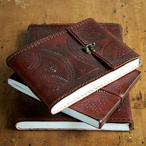 Indra Medium Leather Photo Album - art & pictures