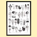 '…We All Scream For Ice Cream' Print