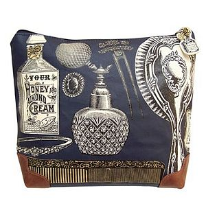 Vintage Chic Wash Bag - make-up & wash bags