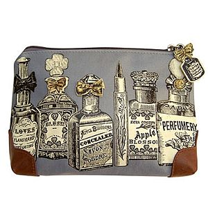 Vintage Chic Make Up Bag - bathroom