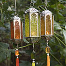 Indian Lanterns - Sold In Pairs