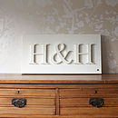 Personalised Initials Canvas