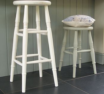 Kitchen Stool Hand Painted In Any Colour