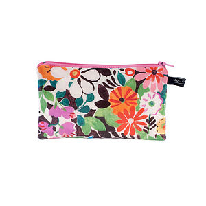 Flower Patch Mini Zip Purse
