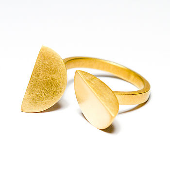 Gold Vermeil Bella Ring