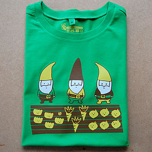 Allotment Gnomes Adult T Shirt - Mens T-shirts & vests