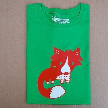 Fox Adult T Shirt