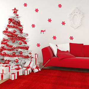 Christmas Decorative Wall Stickers - wall stickers