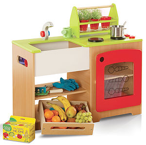 Healthy Eating Kitchen And Market Stall - educational toys